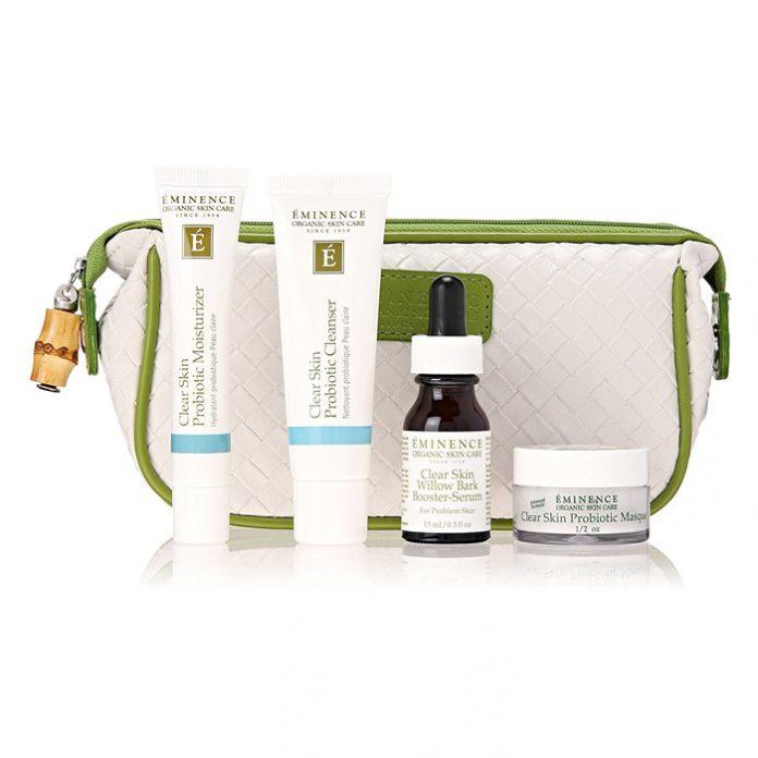 Eminence Organic Skin Care Clear Skin Starter Set