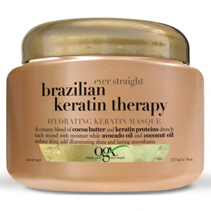 OGX Ever Straight Brazilian Keratin Therapy Hydrating Keratin Masque