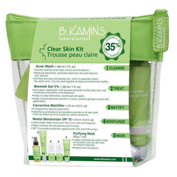 B.Kamins Clear Skin Starter Kit