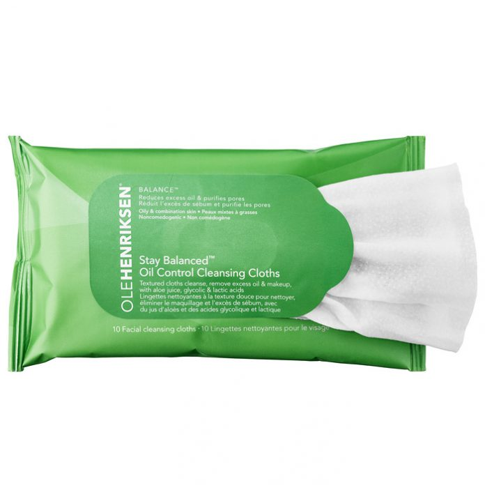 Ole Henriksen Grease Relief Cleansing Cloths: Oil-Free Pore Refining