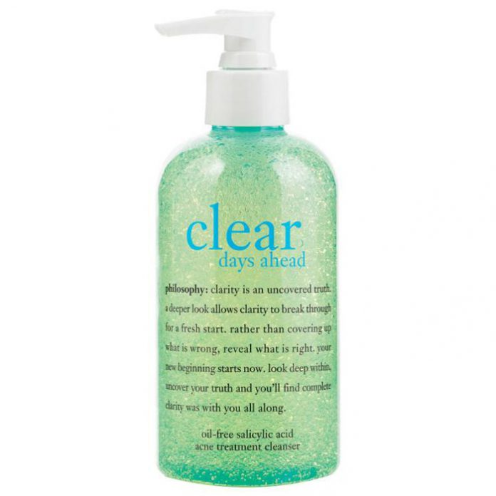 Philosophy Clear Days Ahead Oil-Free Salicylic Acid Acne Treatment Cleanser