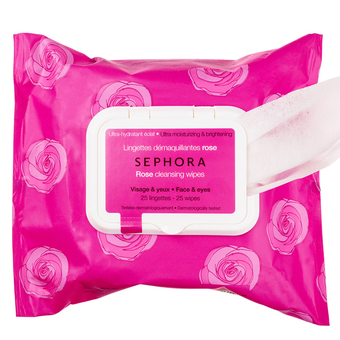 Sephora Collection Cleansing & Exfoliating Wipes