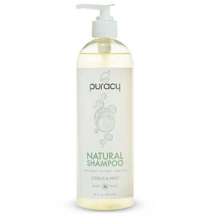 Puracy 100% Natural Shampoo, Citrus/Mint