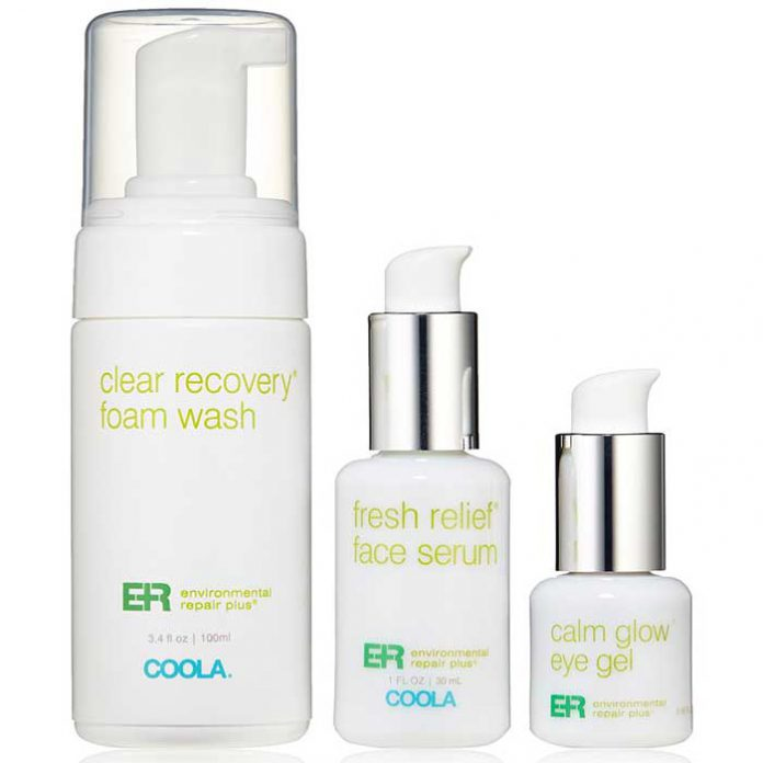 Coola Suncare, Environmental Repair Plus 3 Piece Travel Kit