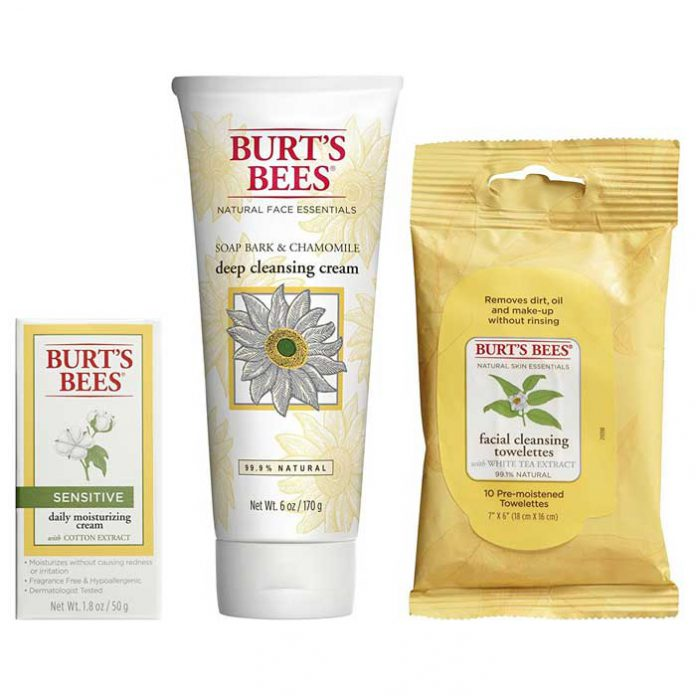 Burt's Bees Basic Face Care Kit