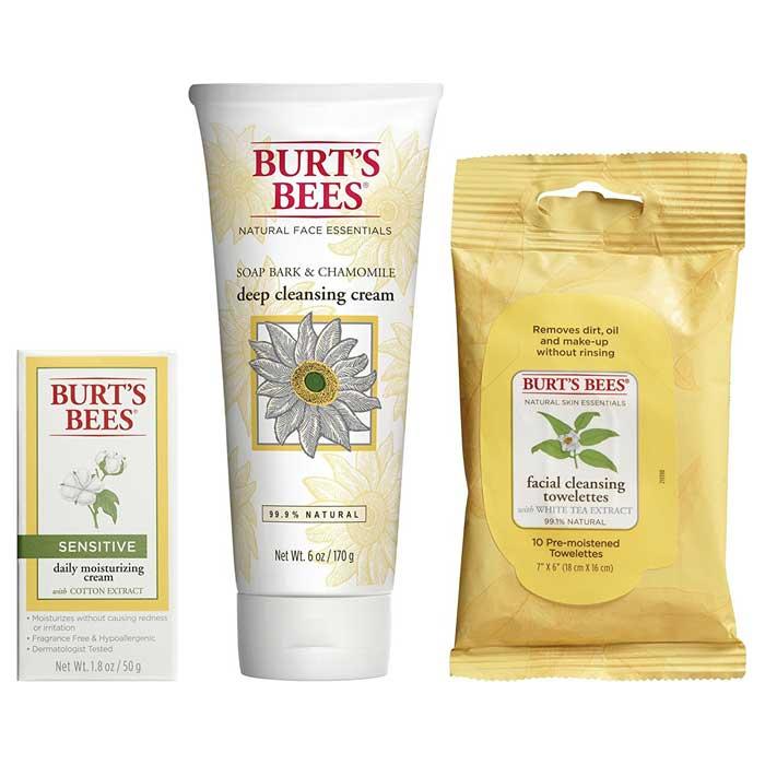 Burt's Bees Basic Face Care Kit