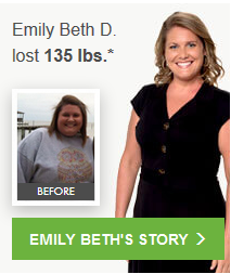 Emily Beth D. lost 135.0 lbs.*