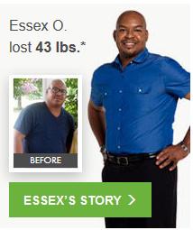 Essex O. lost 43.0 lbs.*