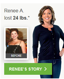 Renee A. lost 24.0 lbs.*