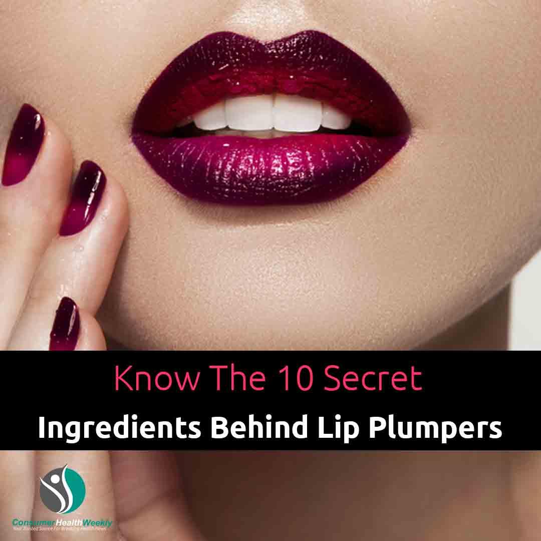 Know The 10 Secret Ingredients Behind Lip Plumpers