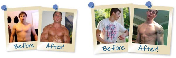 Muscle Gaining Secrets Before & After